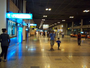 inside new Don Muang Aiport