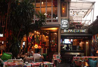 Hippie de Bar on the Khao San Road