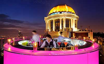 Sky Bar at the Lebua Tower